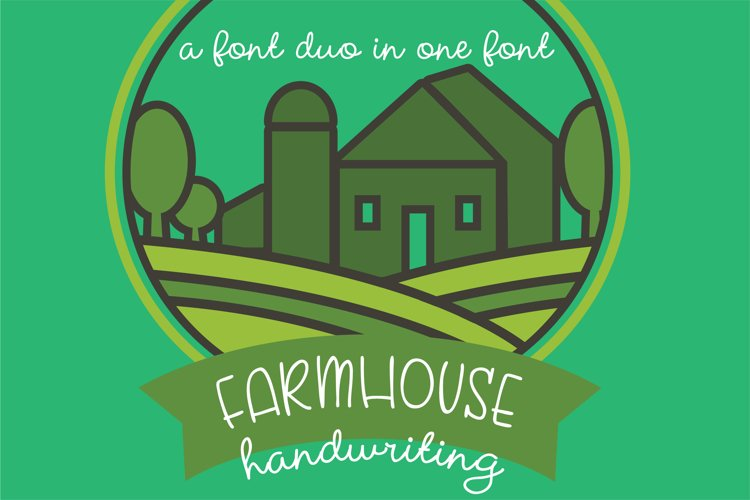 PN Farmhouse Handwriting example image 1