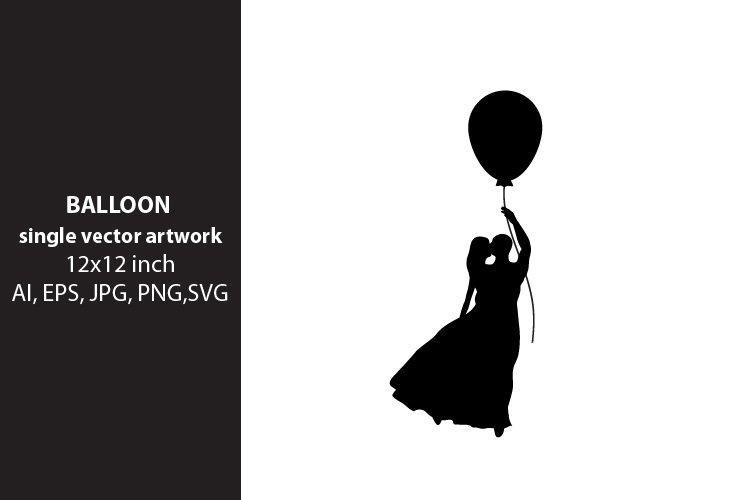 balloon - VECTOR ARTWORK example image 1