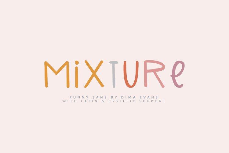 Mixture Cute Latin & Cyrillic