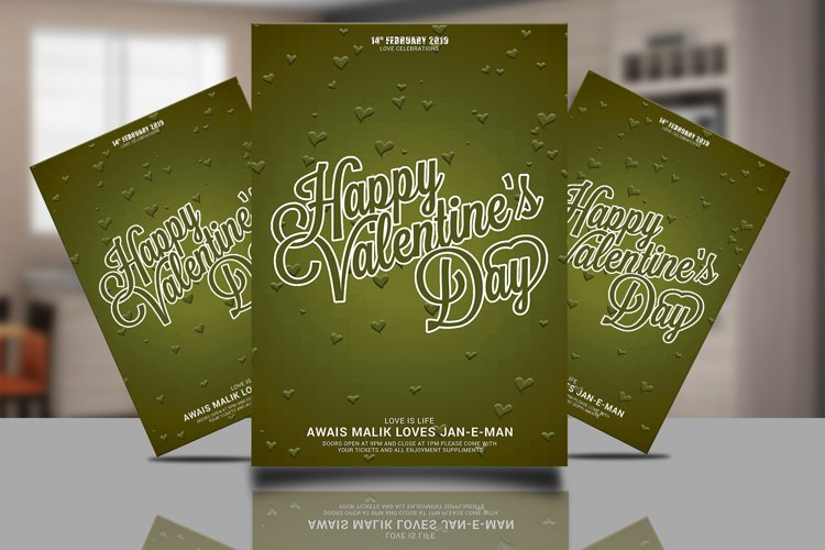 Valentine Card Psd example image 1