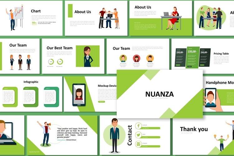 Presentation Templates - Nuanza example image 1