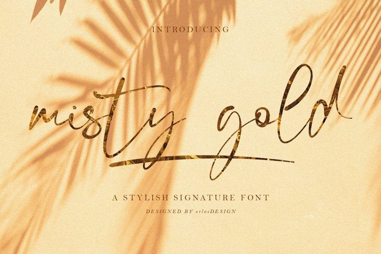 Misty Gold example image 1