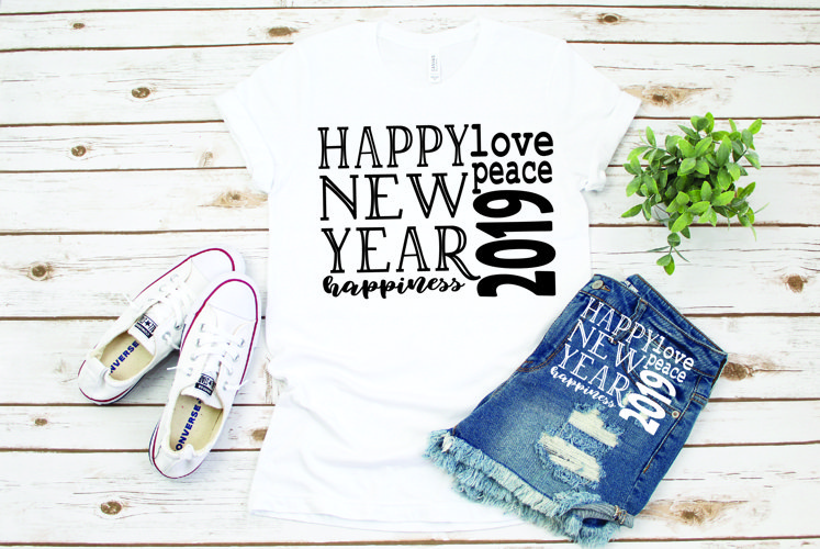Happy new year, new year clipart, 86 example image 1