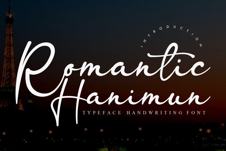 Romantic Hanimun example image 1
