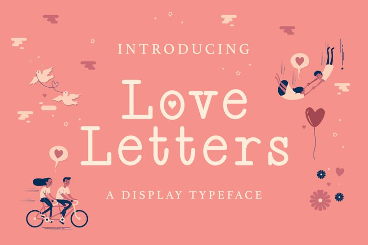 Web Font Love Letters example image 1