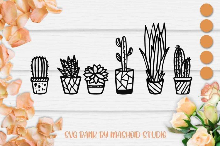 Cactus SVG files VOL 3, Cactus Cut File, Succulent SVG