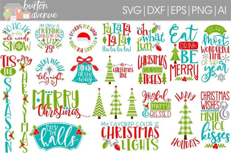 Tis the Season Christmas SVG Bundle