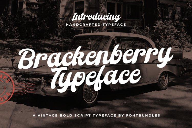 Brackenberry Typeface