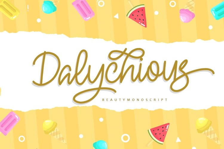 Dalychious example image 1