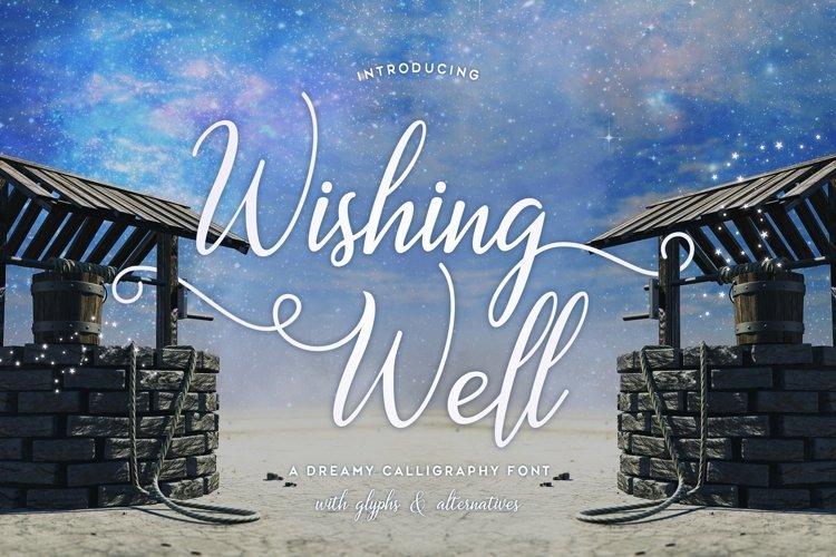 Web Font Wishing Well example image 1