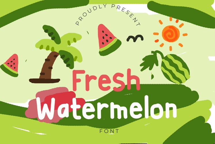 Fresh Watermelon example image 1