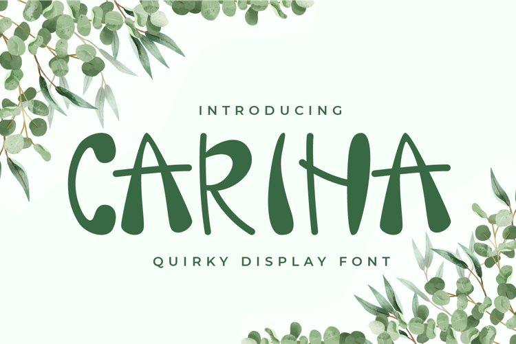 Carina example image 1