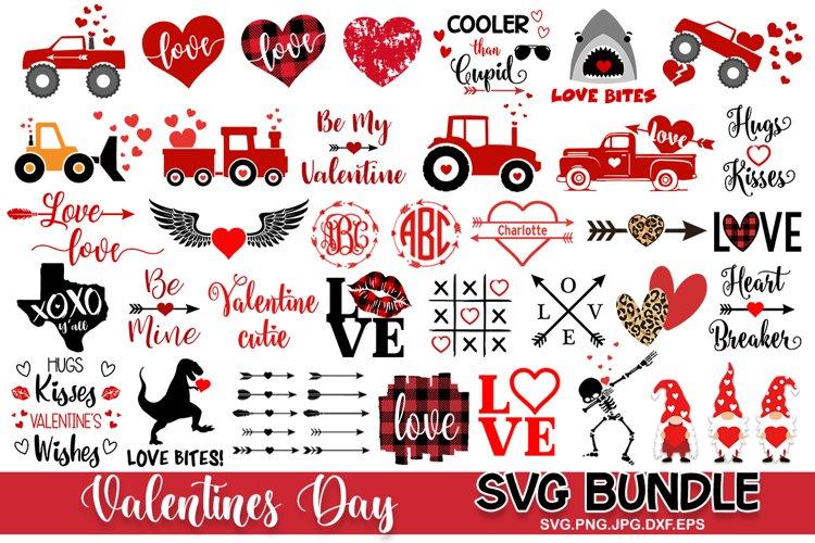 Valentines day SVG Bundle Love SVG Files, Valentines svg example image 1