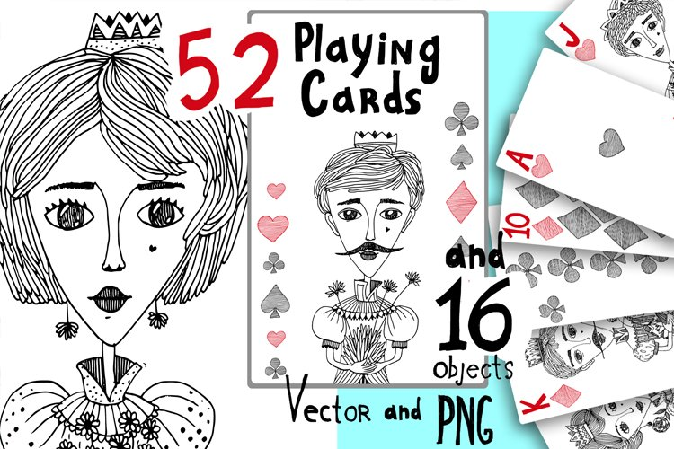 Playing Cards Vector and PNG