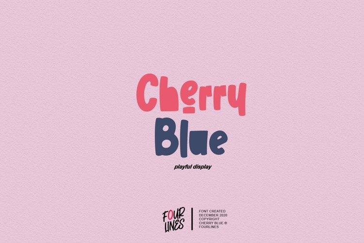 Cherry Blue example image 1
