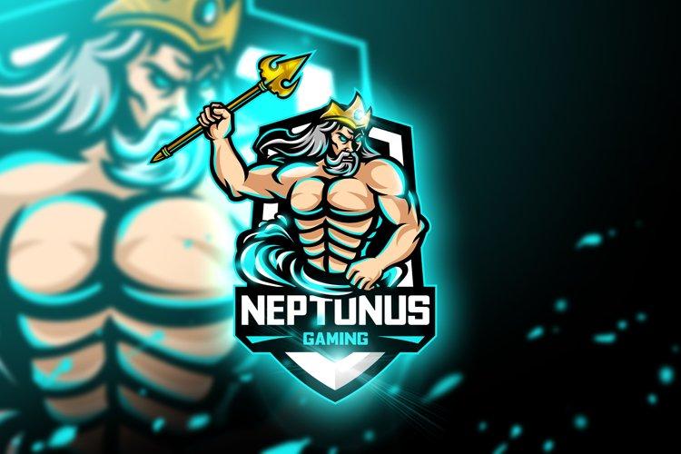 Neptunus Gaming - Mascot & Esport Logo example image 1