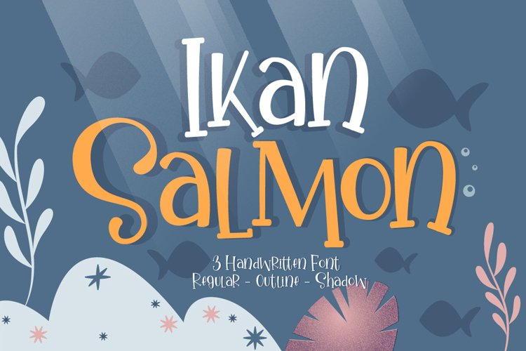 Ikan Salmon - Handwritten Fonts example image 1