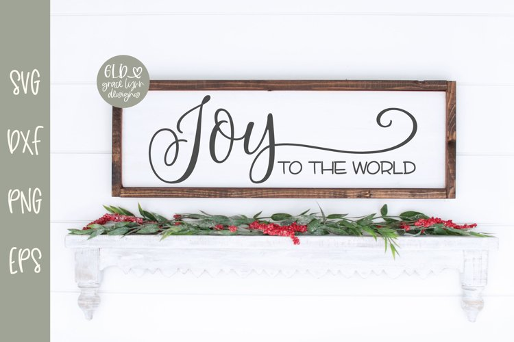 Joy To The World - Christmas SVG example image 1