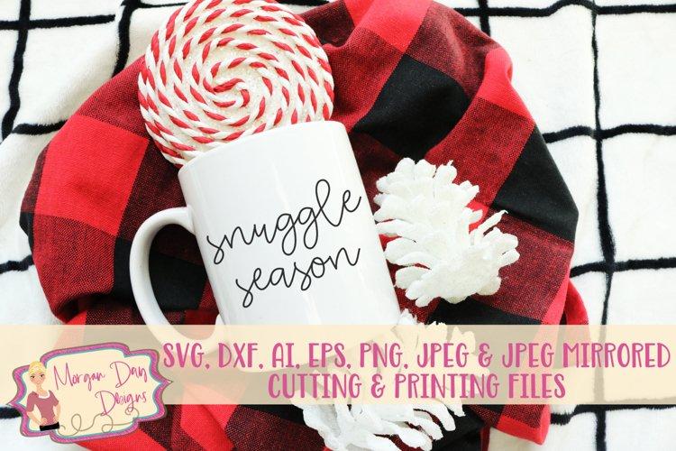 Snuggle Season SVG, DXF, AI, EPS, PNG, JPEG example image 1