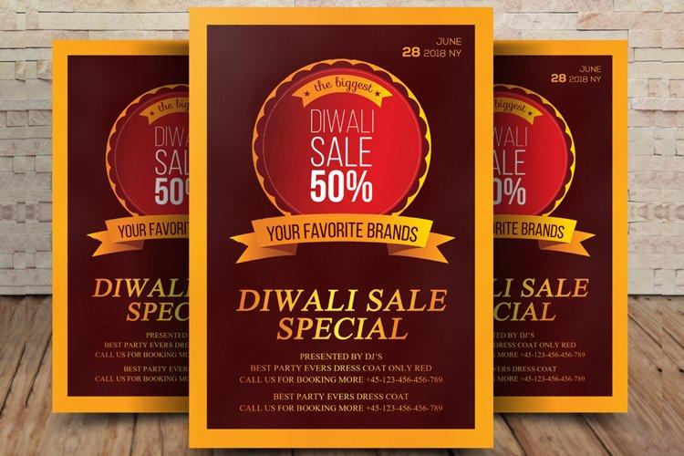 Dewali Special Sale Flyer example image 1