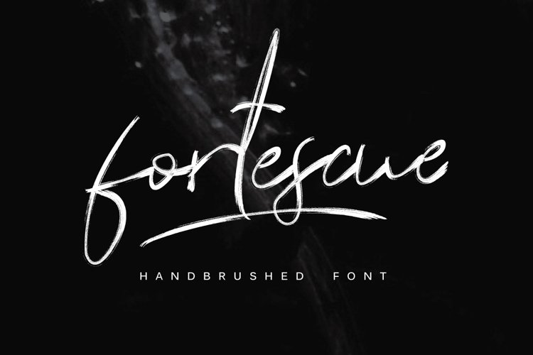 Fortescue Typeface example image 1