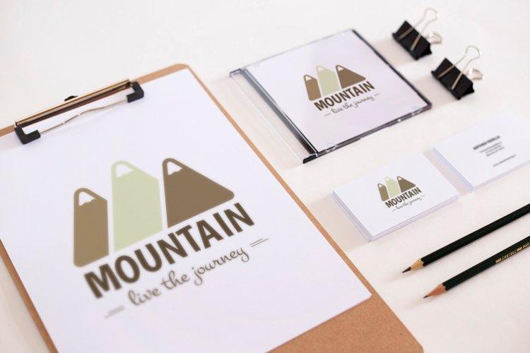 Mountain Logo Template example 1