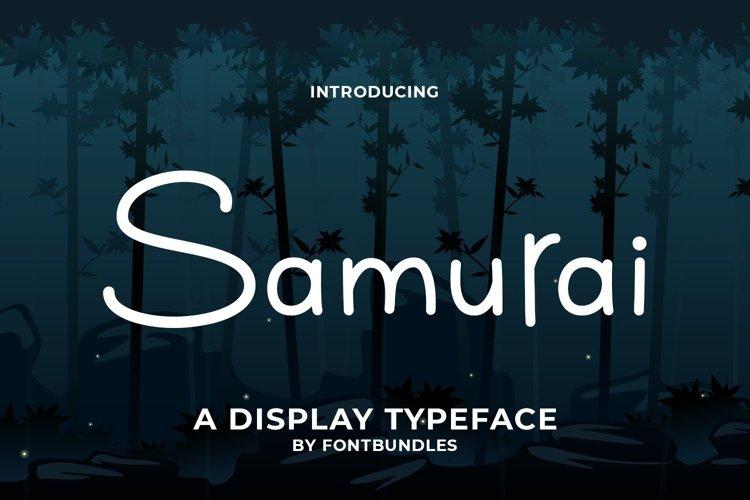 Web Font Samurai example image 1