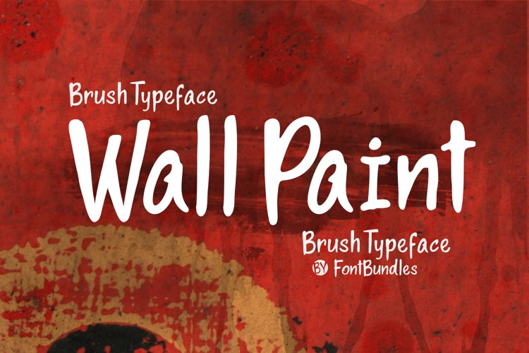 Web Font Wall Paint example image 1