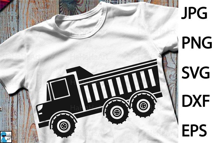 Dump Truck Design - Clip art / Cutting Files 1303c example image 1