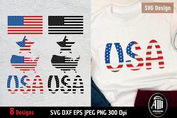 American Flag SVG  Patriotic Bundle 4th of July SVG  US Flag