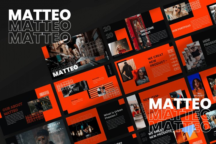 Mateo - Urban Powerpoint Template example image 1