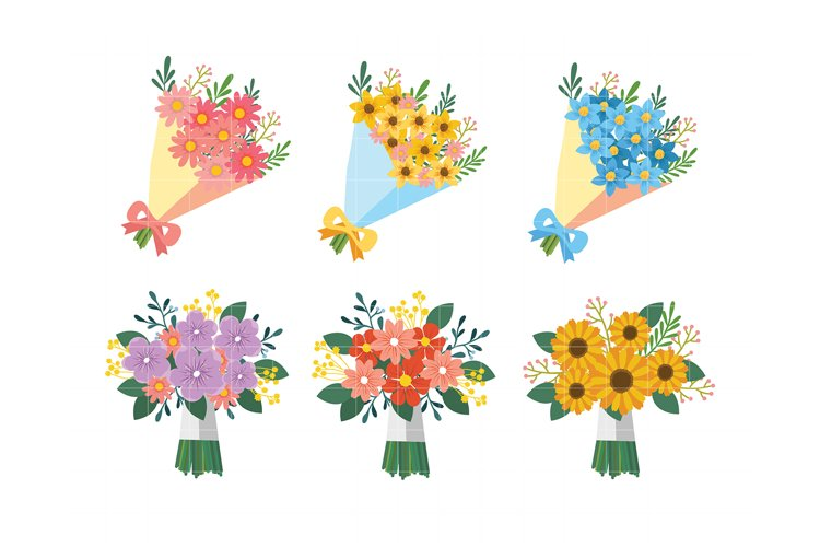 Colorful Flower Bouquet example image 1