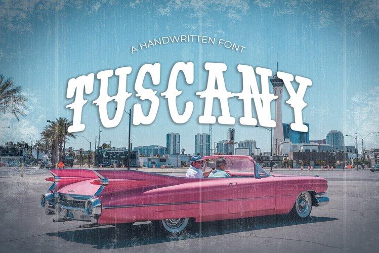 Tuscany Vintage Font