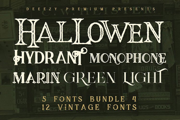 5 Fonts Bundle 4 example image 1