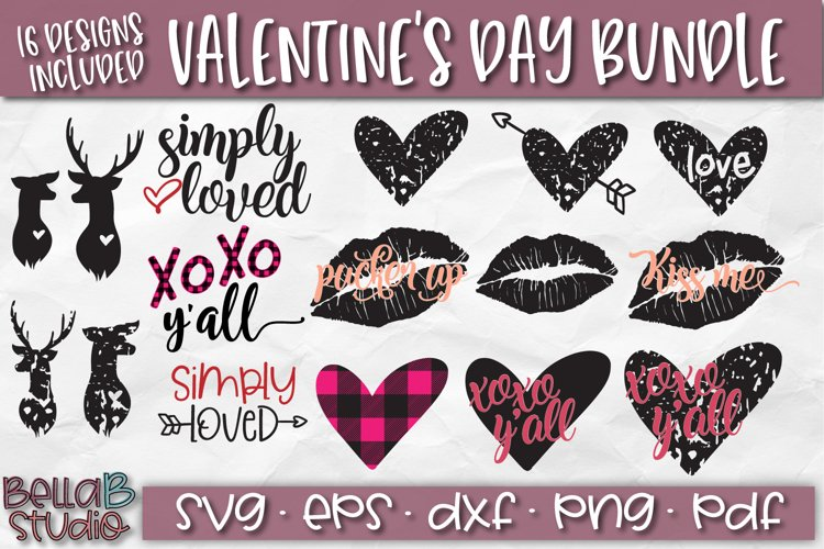 Valentines Day Bundle -Valentines SVG Cut Files example image 1