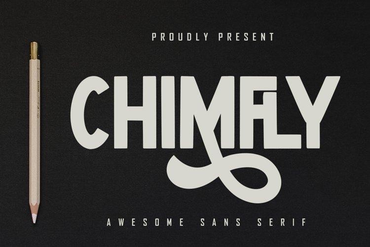 Chimfly - Awesome Sans Serif example image 1