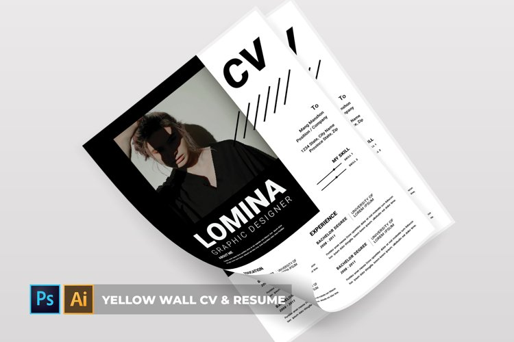 Lomina | CV & Resume example image 1