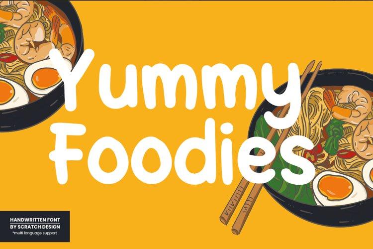 Yummy Foodies example image 1