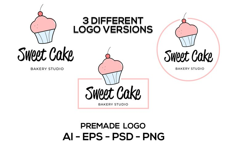 Bakery Logo Design Template, Bakery Logo Vector, Baking Logo