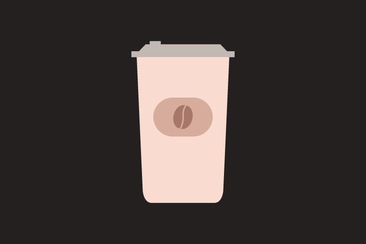 Coffee cup icon example image 1
