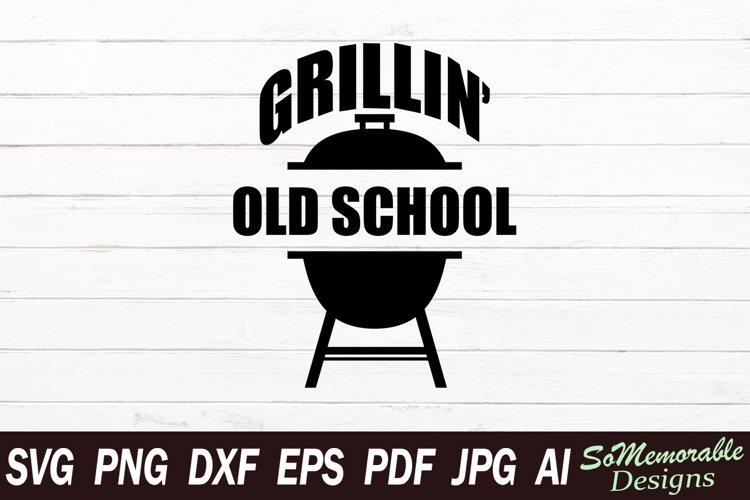 BBQ SVG cut file, BBQ svg design example image 1