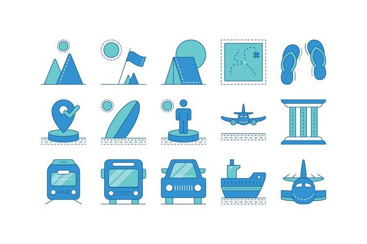 Travel Tone Icon I example image 1