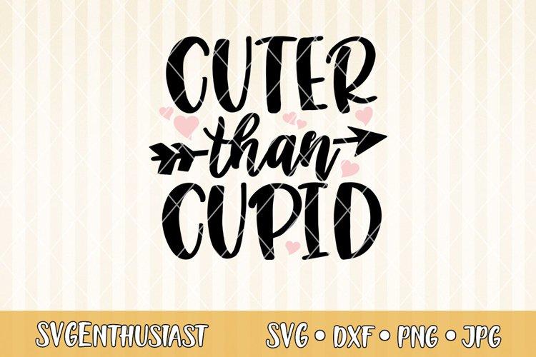 Cuter Than Cupid Svg Cut File 421338 Svgs Design Bundles