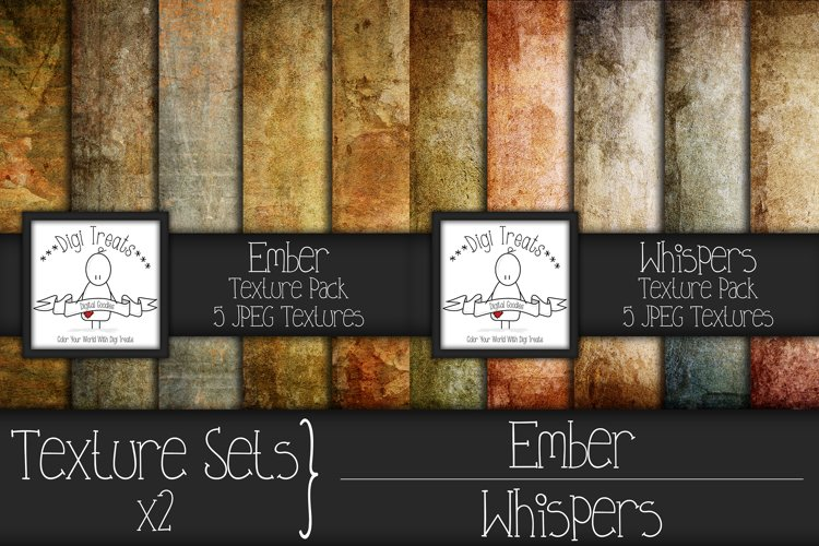 Texture Sets x 2. Ember and Whispers. example image 1