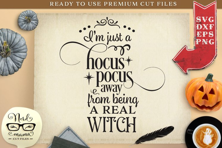 Real Witch Halloween SVG Cut File