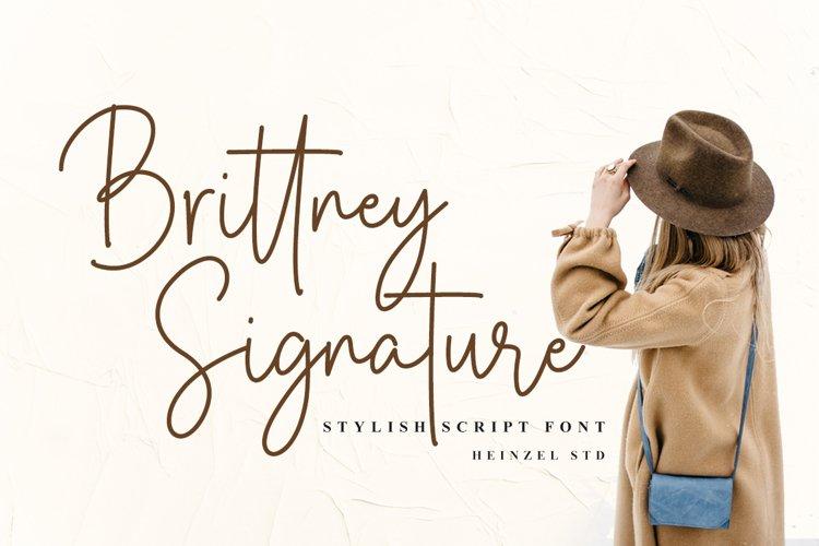 Brittney Signature example image 1