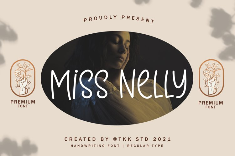 Miss Nelly - Handwriting Font example image 1