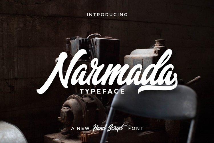Narmada Typeface example image 1