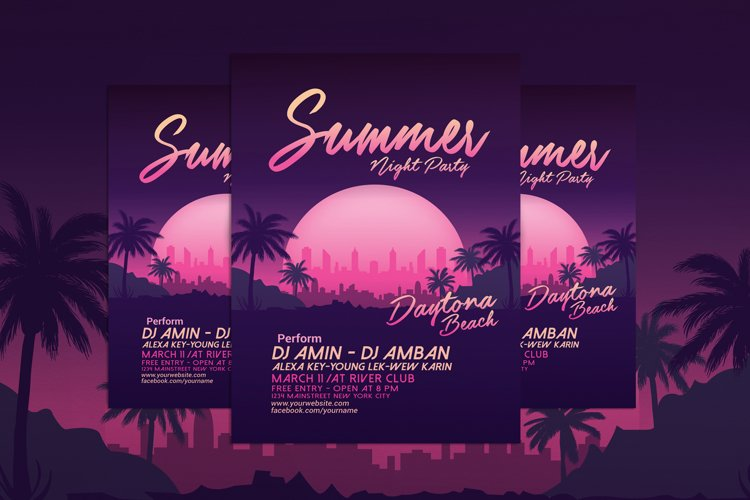 Summer Night Beach Party example image 1