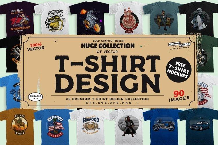 huge bundle of vector t-shirt designs! example image 1